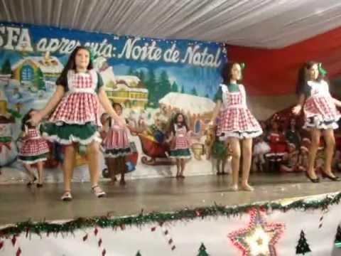 coreografia natal chiquititas cesfa youtube