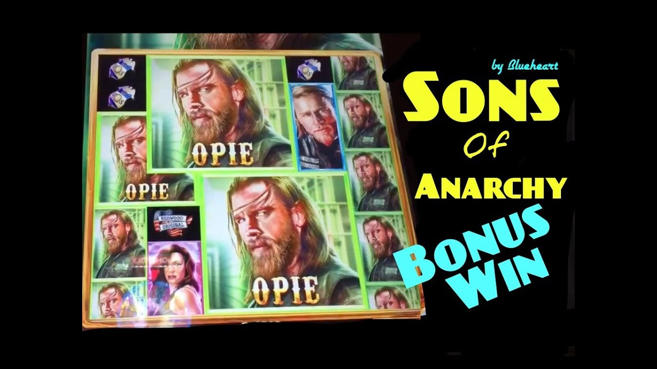 sons of anarchy slot machines