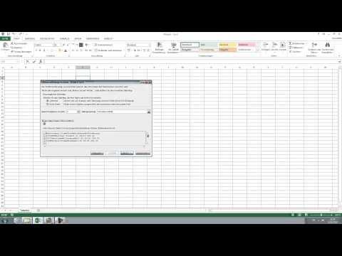 Textdatei in Excel importieren - txt oder csv in Microsoft Excel 2010, 2013 einfügen [HD, Tutorial]