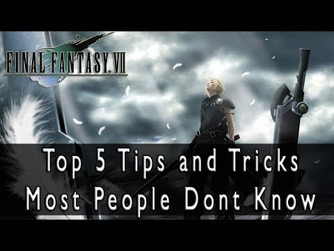 Final Fantasy VII - Top 5 Tips and Tricks Most People Dont Know