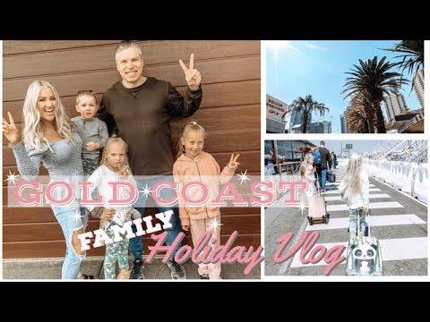 ✈️🌴 GOLD COAST FAMILY HOLIDAY || ROOM TOUR & ORGANIZATION || TRAVEL VLOG #1 || JESS & TRIBE