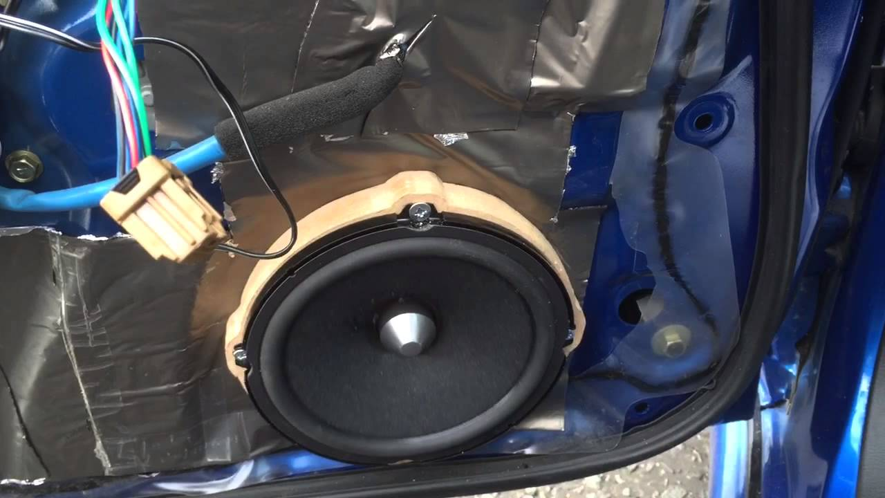 Beau Pioneer Component Door Speakers Ts A172ci First Test In Subaru Impreza