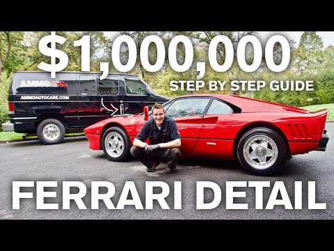 $1,000,000  Ferrari Restoration Detail