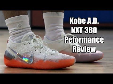 Nike Kobe AD NXT 360 Performance Review