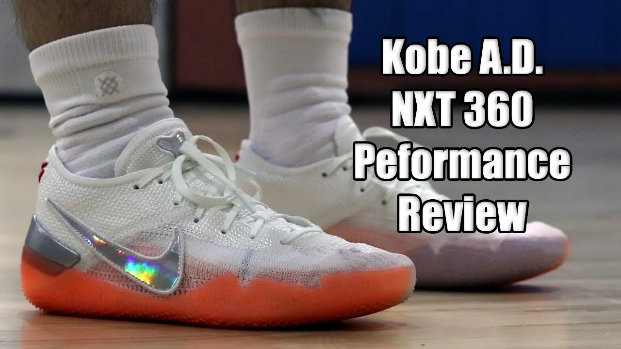 low priced 4e1d9 1fb67 Nike Kobe AD NXT 360 Performance Review