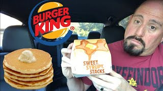 Burger King 89 cent pancakes Review : Food Review