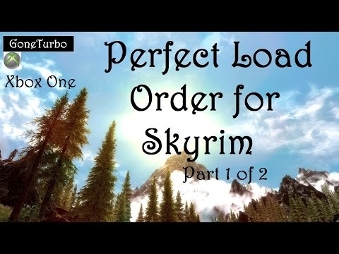 Skyrim Perfect Load Order: 1 of 2 - YouTube
