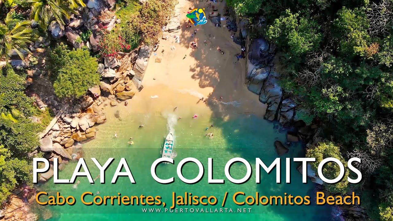 Playa Colomitos 🏖 al S de Puerto Vallarta 08/12/19 Colomitos Beach, Cabo Corrientes, Jalisco Mexico