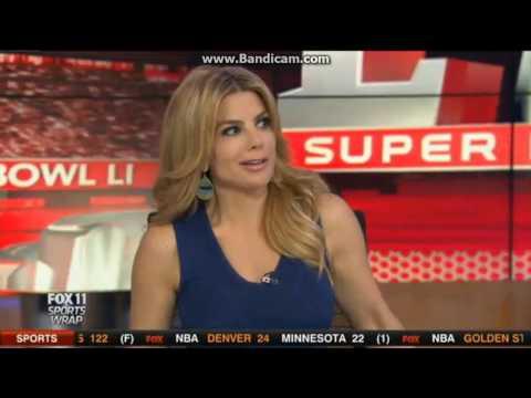 "KTTV Fox 11 ""Sports Wrap"" close January 22, 2017"