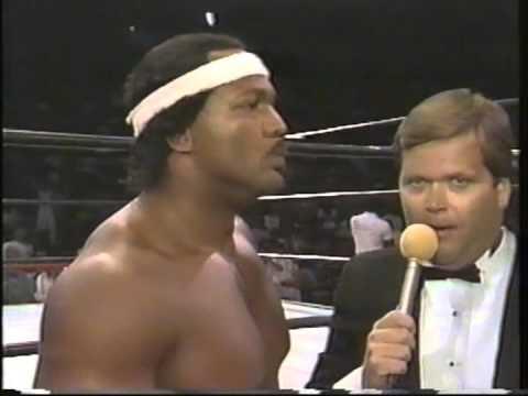 Ron Simmons vs. Samoan Coquine (Yokozuna)