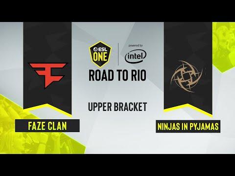CS:GO - FaZe Clan Vs. Ninjas In Pyjamas [Train] Map 3 - ESL One: Road To Rio - Upper Bracket - EU