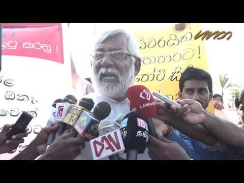 Ranil urged to cancel Sri Lanka Port City project during China visit