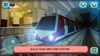 Subway Craft: Build & Rİde (by Crafting And Building Games For Girls Adventure) Android Gameplay HD