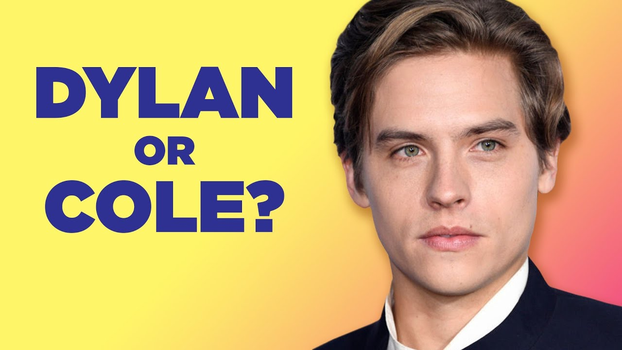 Dylan Sprouse Finds Out Which Sprouse Twin He Really Is