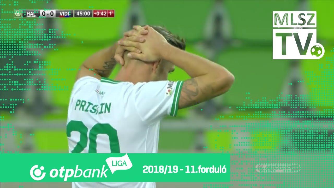Szombathelyi Haladás  - Mol Vidi FC | 0-2 (0-0) | OTP Bank Liga | 11. forduló | 2018/2019