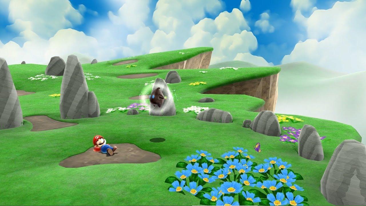 Mario Galaxy Dual Monitor Wallpaper Youtube