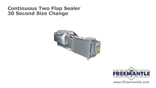 T Freemantle Ltd - Continuous Two Flap Carton Sealer