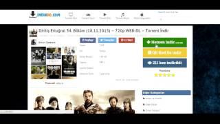 Torrent Dizi ve Film Nasıl İndirilir ?