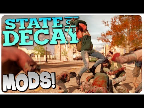 ZOMBIE HORDE INVADES the Wilkerson Farm! | State of Decay Gameplay #3 (Mods)
