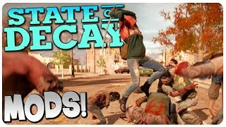 ZOMBIE HORDE INVADES the Wilkerson Farm!   State of Decay Gameplay #3 (Mods)