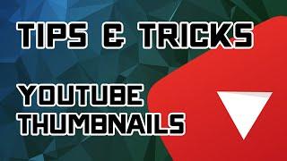 Optimizing Youtube Thumbnails: Tips, Tricks, & Finding Fonts - [Creator Tutorial]
