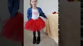 Фатиновые юбки для девочек