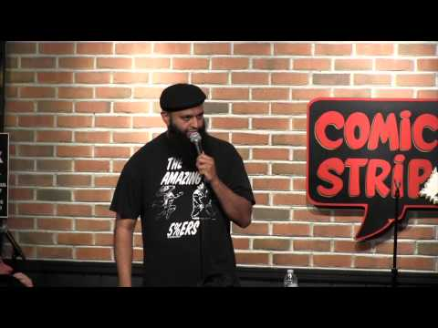 Flying While Muslim ~ standup comedian Azhar Usman