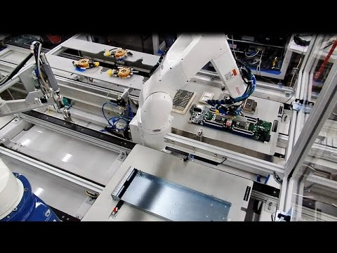 Flexible Robotic Workcell Server Assembly