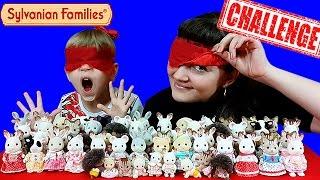 ► Челлендж Сильваниан Фэмилис! Слепой челлендж с моими любимыми игрушками ❤