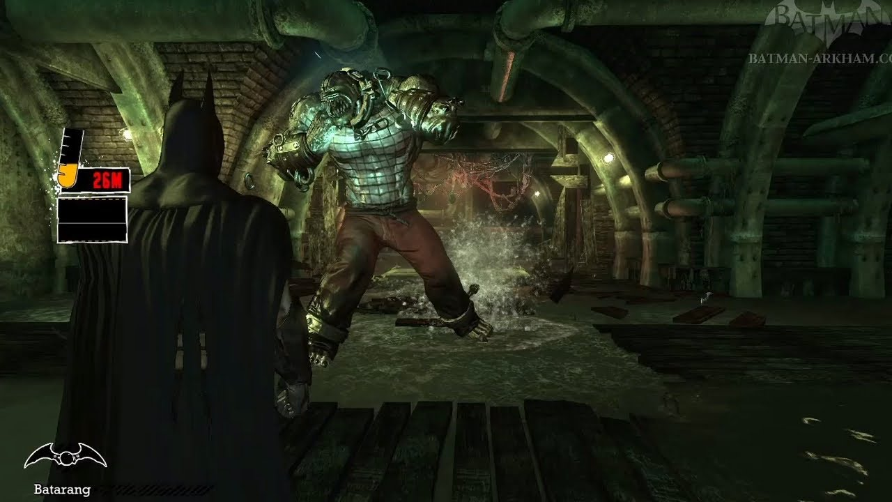 Batman Arkham Asylum Walkthrough Chapter Killer Croc Lair Youtube
