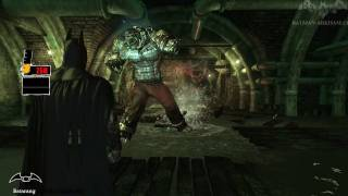 Batman: Arkham Asylum - Walkthrough - Chapter 45 - Killer Croc