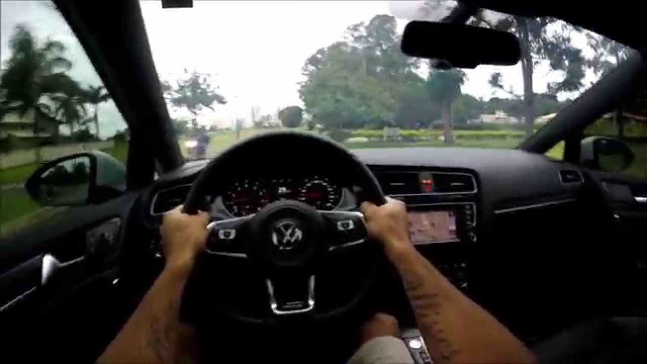 volkswagen golf gti  pov youtube