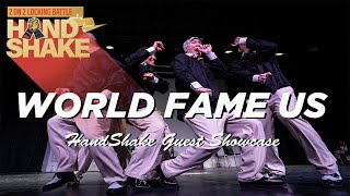 WORLD FAME US | SHOWCASE | HAND SHAKE LOCKING  VOL.4 | KOREA