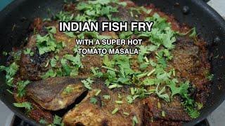 Indian Fish Fry Recipe W Super Hot Chilli Masala