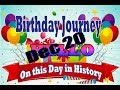 Birthday Journey Dec 20 New