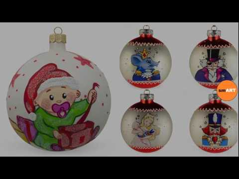 glass christmas decorations glass ball ornaments