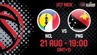 LIVE - New Caledonia v Papua New Guinea - FIBA U17 Oceania Championships 2019