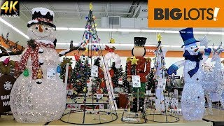 OUTDOOR CHRISTMAS DECORATIONS AND INFLATABLES AT BIG LOTS - Christmas Shopping Shop Home Decor (4K)