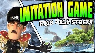 Level 3 Tanks vs Imitation Game  - Boom Beach Oct 19/2018