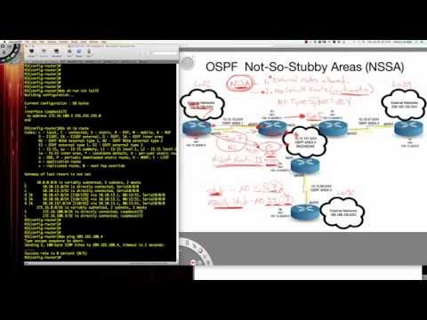 OSPF Stub Area Types - An Introduction: The Not-So-Stubby Area (NSSA) Configuration and Verification