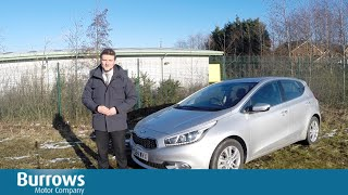 Kia Cee'd Hatchback In depth review 2015