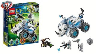 Phim Hoat Hinh | LEGO Chima 2014 Rogon s Rock Flinger 70131 Toy Review | LEGO Chima 2014 Rogon s Rock Flinger 70131 Toy Review