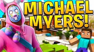 MINECRAFT MODDED MIKE MEYERS ON TILTED TOWERS (FORTNITE JETPACK)