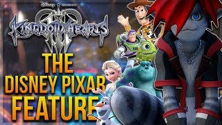 Kingdom Hearts 3 - The Disney Pixar Feature/Interview