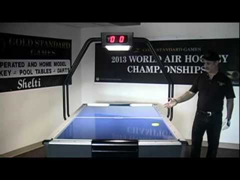 Tournament Pro Air Hockey Table By Gold Standard Games