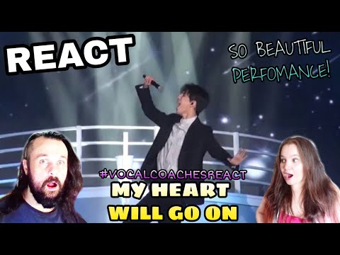 VOCAL COACHES REACT: DIMASH - MY HEART WILL GO ON