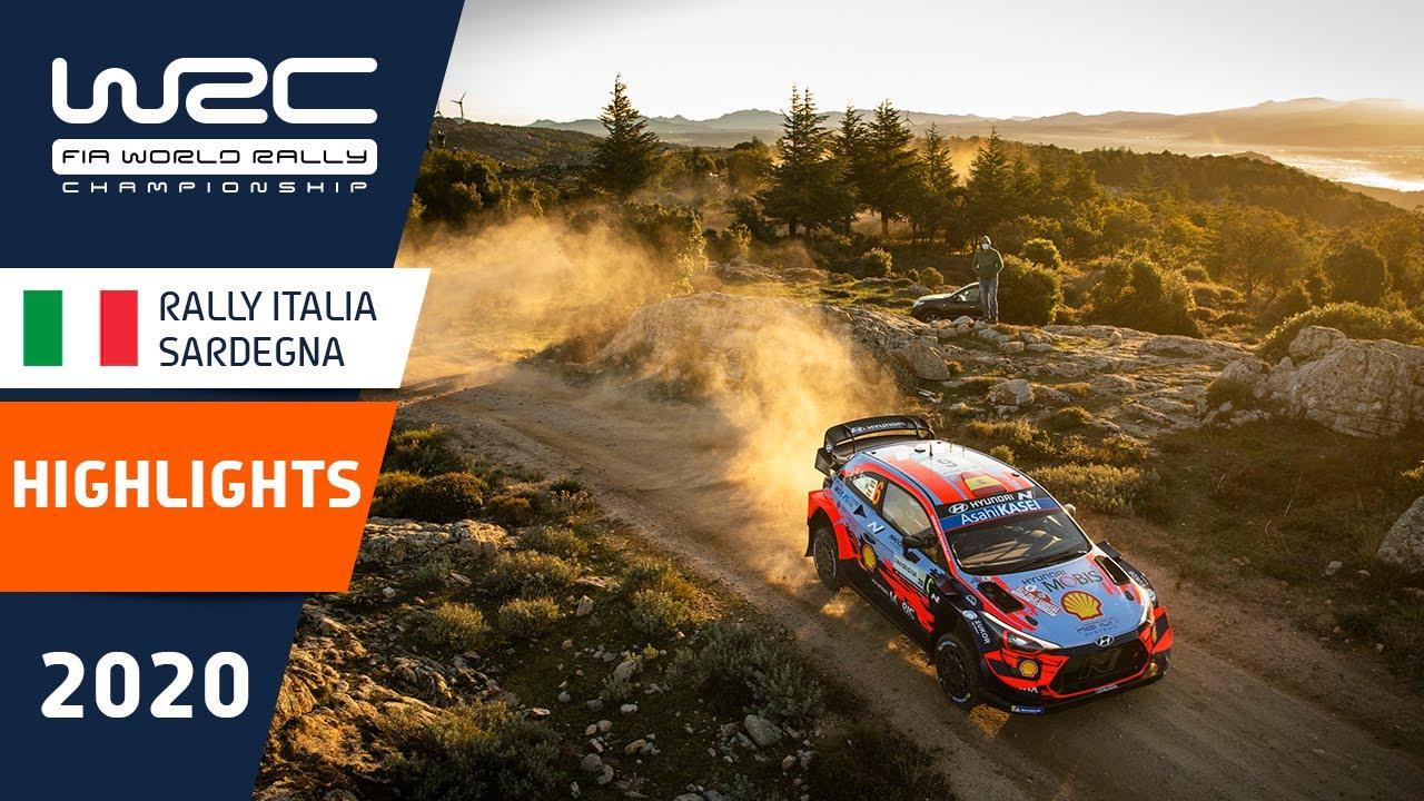 WRC - Rally Italia Sardegna 2020: Event Highlights Clip