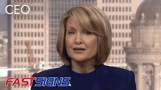 CEO Catherine Monson on Fox Business- FASTSIGNS®