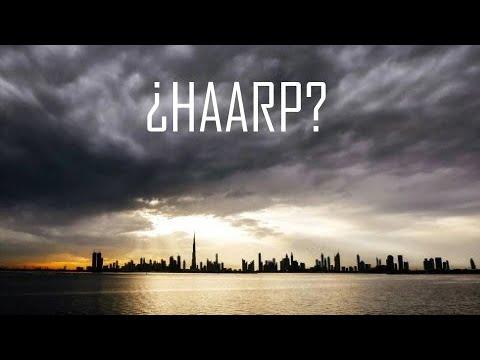 Increíble, Emiratos Árabes crea lluvia Artificial!!!