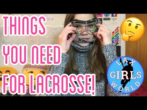 What Equipment You Need To Start Women's Lacrosse! | LaxGirlsWorld